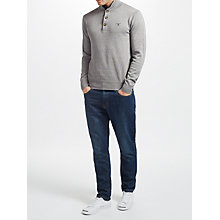 Buy Gant Sporty Cotton Mock Neck Jersey Top Online at johnlewis.com