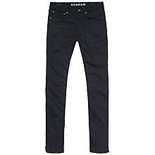 Buy Denham Bolt Skinny Fit Jeans, Navy Online at johnlewis.com