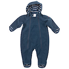 Buy Polarn O. Pyret Baby Windfleece Pramsuit, Blue Online at johnlewis.com