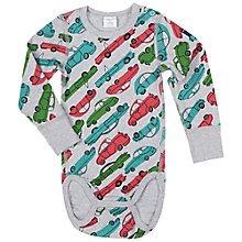 Buy Polarn O. Pyret Baby's Car Bodysuit Online at johnlewis.com