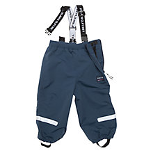 Buy Polarn O. Pyret Baby's Waterproof Trousers, Blue Online at johnlewis.com