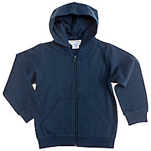 Buy Polarn O. Pyret Children Hoodie, Navy Online at johnlewis.com