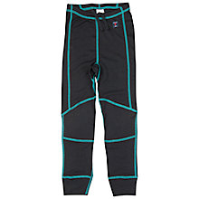 Buy Polarn O. Pyret Children's Thermal Long Johns, Black Online at johnlewis.com