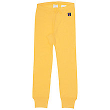 Buy Polarn O. Pyret Children's Merino Wool Long Johns, Yellow Online at johnlewis.com