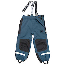 Buy Polarn O. Pyret Children's Waterproof Trousers, Navy Online at johnlewis.com