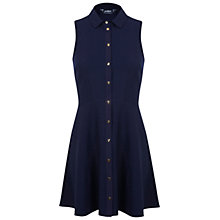 Buy Miss Selfridge Petite Shirt Dress, Navy Online at johnlewis.com