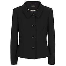 Buy Precis Petite Tailored Jacket, Black Online at johnlewis.com