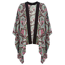 Buy Oasis Ibiza Paisley Kimono, Multi Online at johnlewis.com