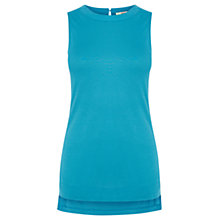 Buy Oasis Summer Tunic Vest, Dark Blue Online at johnlewis.com