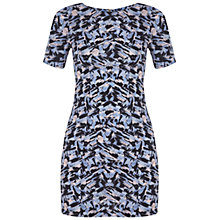 Buy Miss Selfridge Petite Printed T-shirt Dress, Multi Online at johnlewis.com