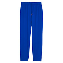 Buy Violeta by Mango Baggy Trousers, Blue Online at johnlewis.com