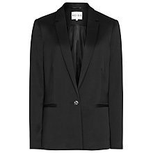 Buy Reiss Soft Tailored Jacket, Black Online at johnlewis.com