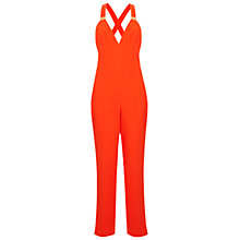 Buy Miss Selfridge Gold Trim Jumpsuit Online at johnlewis.com