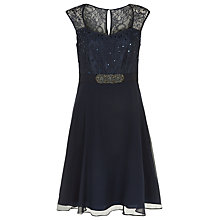 Buy Kaliko Lace & Chiffon Prom Dress Online at johnlewis.com