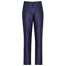 Buy Reiss Feather Tailored Trousers, Midnight Navy Online at johnlewis.com