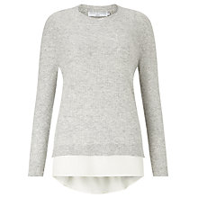 Buy John Lewis Capsule Collection Two In One Jumper, Grey Online at johnlewis.com