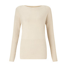 Buy John Lewis Capsule Collection Ribbed Knit Jumper Online at johnlewis.com