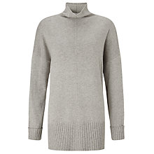 Buy John Lewis Capsule Collection Oversized Jumper, Grey Online at johnlewis.com