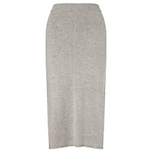 Buy John Lewis Capsule Collection Pintuck Skirt, Grey Online at johnlewis.com