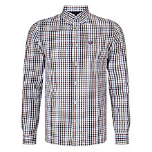 Buy Fred Perry Bold Gingham Shirt, White/Multi Online at johnlewis.com