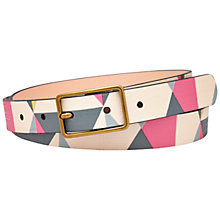 Buy Fossil Printed Jean Belt, Multi Online at johnlewis.com