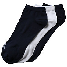 Buy Adidas Performance No-Show Thin Socks, Pack of 3 Online at johnlewis.com