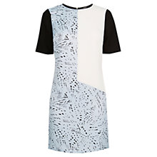 Buy Oasis Graphite Printed Shift Dress, Multi Online at johnlewis.com