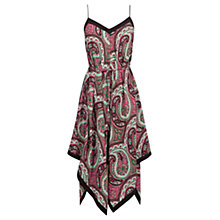 Buy Oasis Ibiza Paisley Hanky Hem Dress, Multi Online at johnlewis.com