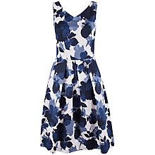 Buy Closet Floral Box Pleat Dress, Multi Online at johnlewis.com