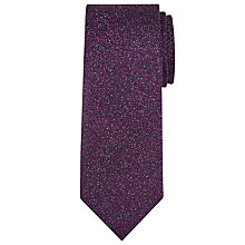 Buy Richard James Mayfair Disco Silk Tie, Purple Online at johnlewis.com