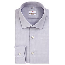 Buy Richard James Mayfair Jacquard Diamond Shirt Online at johnlewis.com