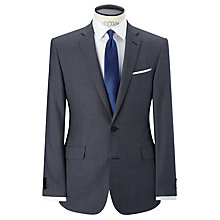 Buy Richard James Mayfair Birdseye Suit Jacket, Ice Blue Online at johnlewis.com