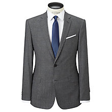 Buy Richard James Mayfair Milled Prince of Wales Check Suit Jacket, Charcoal Online at johnlewis.com