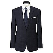 Buy Richard James Mayfair Windowpane Check Suit Jacket, Navy Online at johnlewis.com