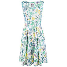 Buy Closet Slit Front Print Dress, Multi Online at johnlewis.com
