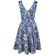 Buy Closet Flared Floral Dress, Multi Online at johnlewis.com