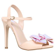 Buy Miss KG Fancy Stiletto Heeled Sandals, Nude Online at johnlewis.com