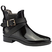 Buy Ted Baker Hireo Rubber Ankle Boots, Black Online at johnlewis.com