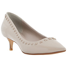Buy Dune Anya Kitten Heel Studded Court Shoes Online at johnlewis.com