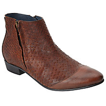 Buy Somerset by Alice Temperley Puxton Leather Ankle Boots, Tan Online at johnlewis.com