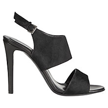 Buy Jigsaw Darcy Kitten Heel Open Toe Buckle Sandals Online at johnlewis.com