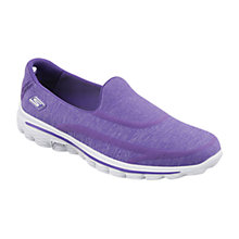 Buy Skechers GOwalk 2 Super Sock Walking Shoes Online at johnlewis.com