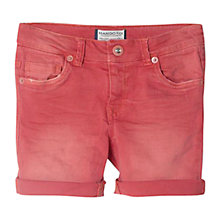 Buy Mango Kids Boys' Bermuda Shorts, Bright Red Online at johnlewis.com