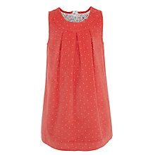 Buy John Lewis Girls' Spot Corduroy Pinafore Dress Online at johnlewis.com