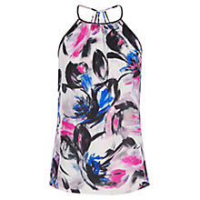 Buy Warehouse Brushstroke Cami Top, Multi Online at johnlewis.com