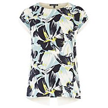 Buy Warehouse Matisse Floral Wrap Tee, Multi Online at johnlewis.com