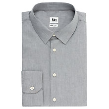 Buy Kin by John Lewis Melange Poplin Slim Fit Shirt Online at johnlewis.com