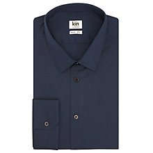 Buy Kin by John Lewis Stretch Poplin Slim Fit Shirt, Ice Blue Online at johnlewis.com