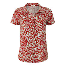 Buy White Stuff Caro Jersey Shirt, Rustic Jam Online at johnlewis.com