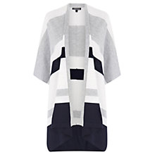 Buy Warehouse Stripe Rectangle Cardigan, Multi Online at johnlewis.com